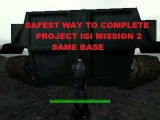 PROJECT IGI MISSION 2 SAM BASE! - SAFEST WAY TO COMPLETE MISSION