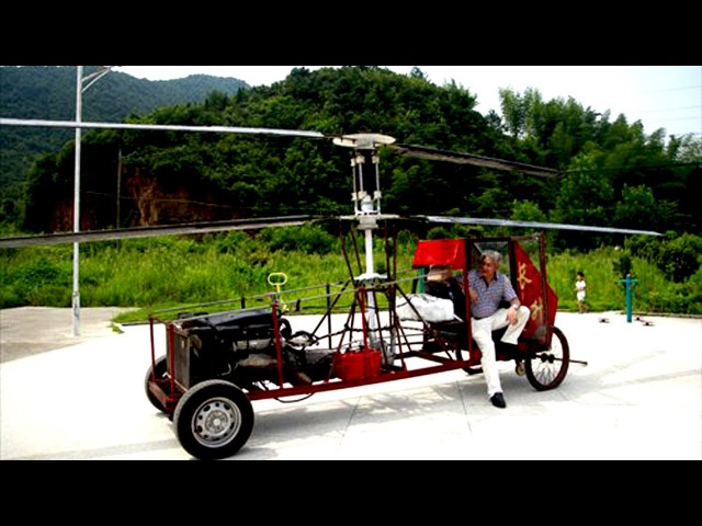 Top5 home made helicopter in the world