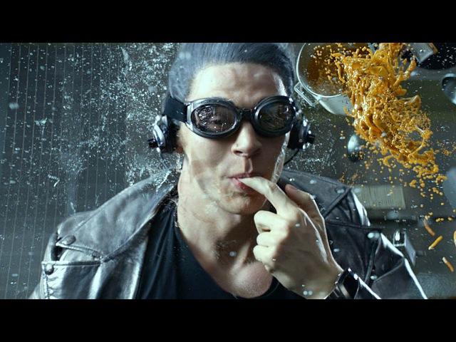 QuickSilver Scene Kitchen X Men Days Of Future Past 2014 Movie Clip HD