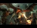 Игровой процесс Средиземье Тени войны Исползование Драконов для штурма крепости Shadow of War Using Wild Drakes to Assau