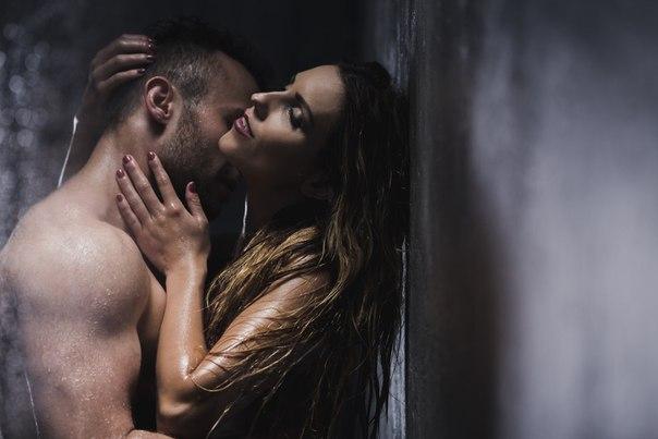 Секс в душе с т тей