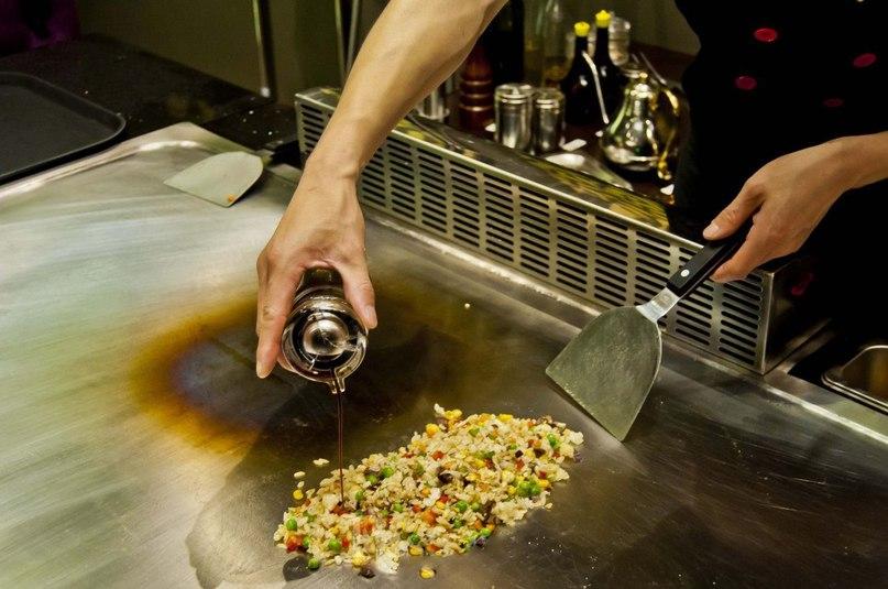 Рис с говядиной и овощами Ингредиенты: