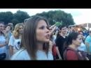 Юлия Топольницкая на концерте Шнура