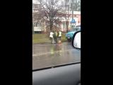 Ремонт дороги в Бобруйске