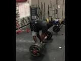 Рэй Уилльямс - тяга 340 кг на 2 повтора