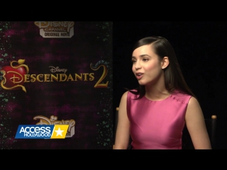 Sofia Carson Shares How Evie Has Evolved In 'Descendants 2'
