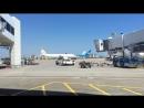 Масовка в аэропорту