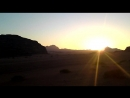 Закат в пустыне Вади Рам. Иордания 06.05.2017 г.