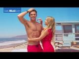 Carmen Electra unveils Zac Efrons shirtless wax figure