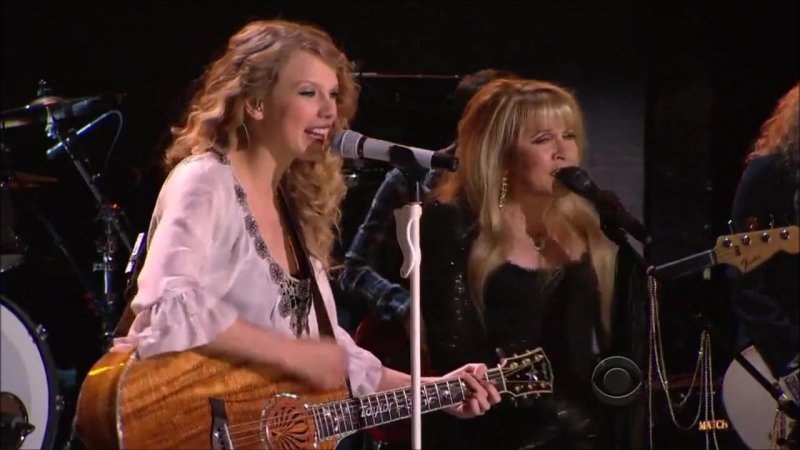 Taylor Swift Stevie Nicks - You Belong With Me (Live at Grammy Awards 2010)