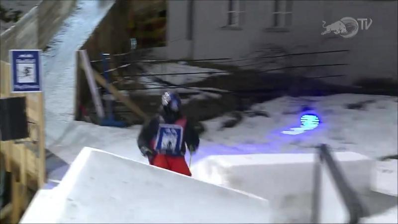 Jesper Tjäders winning run