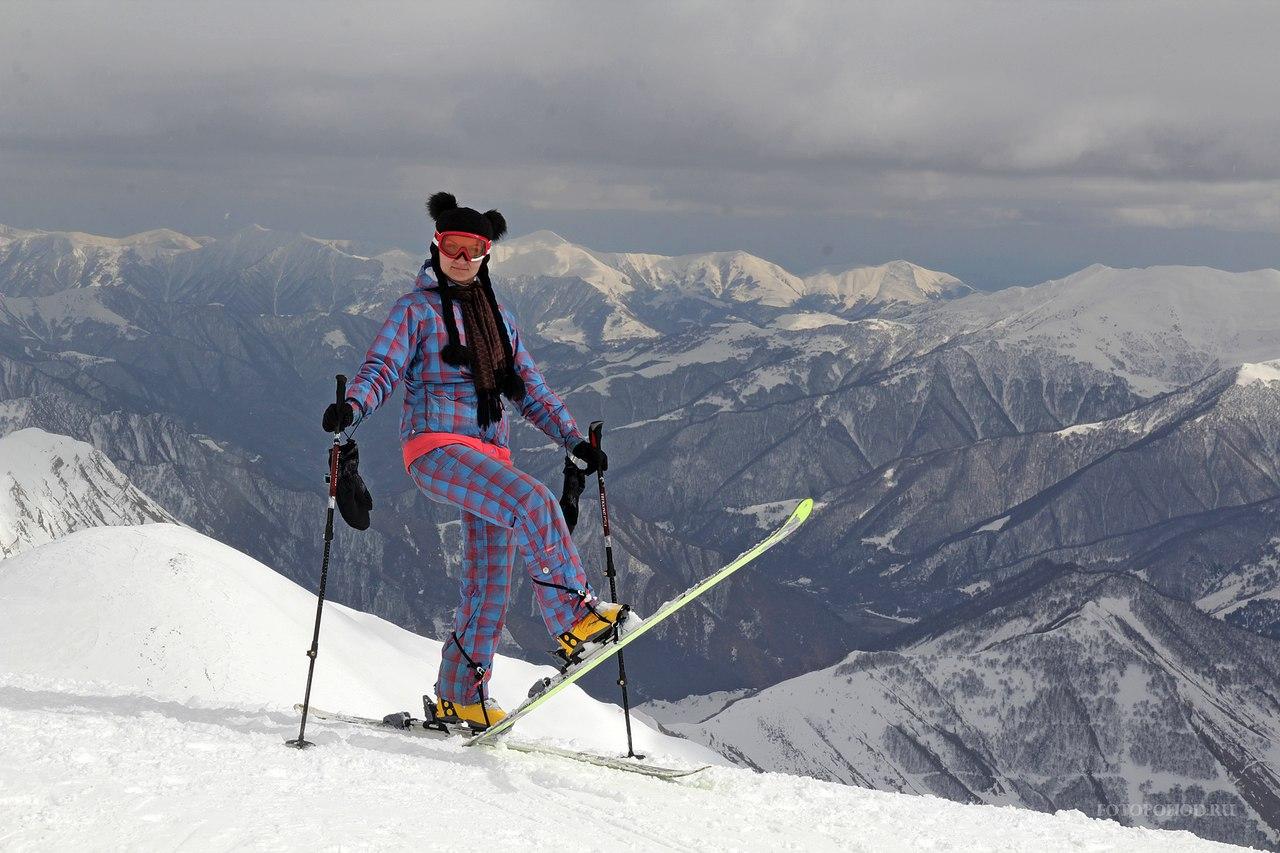Афиша Краснодар Горнолыжный Гудаури февраль 2019