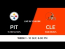 NFL 2017-2018 / Week 01 / Pittsburgh Steelers - Cleveland Browns / Condensed Games / Сжатые игры / EN