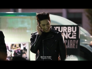 [FANCAM] 161029 Джейби звонит Ёнджэ @ Мини-фанмитинг 'GOOD-BYE Hard Carry'