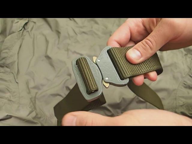 Обзор - Тактический ремень Helikon-Tex Cobra belt с пряжкой Кобра AustriAlpin
