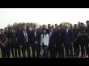 The team welcome the new AC Milan management at Milanello