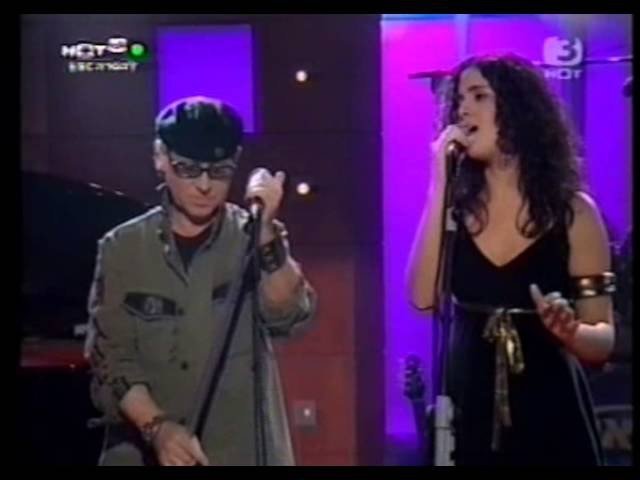 Klaus Meine (Scorpions) Liel Kolet - Send Me An Angel (Israeli TV 2005)