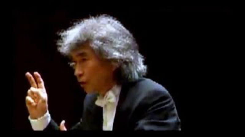 SEIJI OZAWA conducts BEETHOVEN SYMPHONY 4 Saito Kinen Orchestra