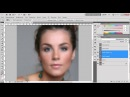 Photoshop качественная ретушь выравниваем тон кожи 3 8