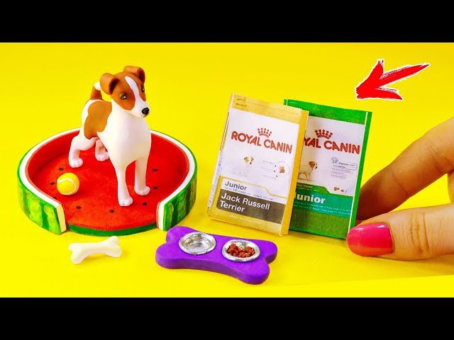 ПИТОМЕЦ для КУКОЛ 🐶 ДЖИНА собака ELLI DI. Собака для кукол. Своими руками из Фимо. Ирина Иваницкая