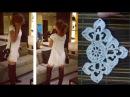 Мотив крючком для платья Леонора