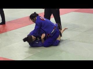 Asena Melike Agansoy vs Lauriane Thurin IBJJF Paris Open 2016
