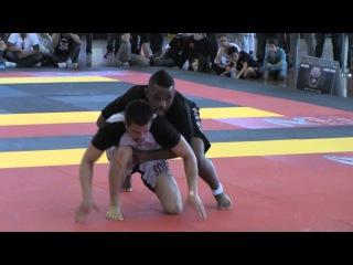 ADCC Nationals: DJ Jackson vs Garry Tonon