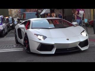 LOUD Arab Lamborghini Aventador - DOWNSHIFTS ACCELERATIONS!!