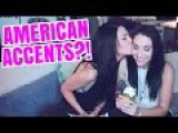 BEST ACCENT CHALLENGE - Real lesbian couple Stevie Boebi and Ally Hills