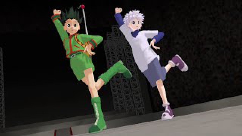 【MMD HxH】Tik Tok ゴンとキルアで Gon and Killua MMD model distribution dl HUNTER x HUNTER
