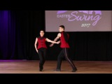 Christopher Dumond and Tara Trafzer - Classic 1st place - Seattle Easter Swing