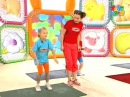 Прыг скок команда - Зарядка для малышей Уборка по дому