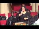 Psalmist Tiffany Mosley sang Amazing into a Praise Break