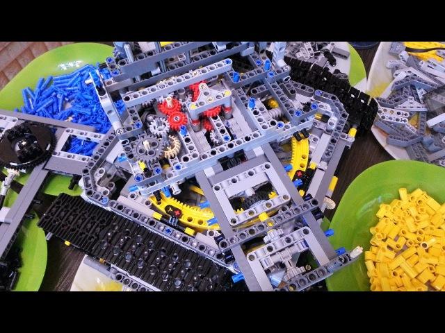 Lego 42055 Роторный экскаватор бонус