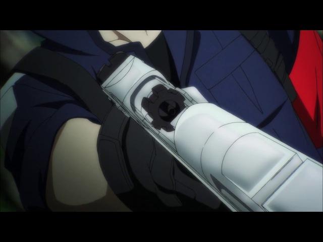 Синяя весна и механическая пушка / Aoharu x Kikanjuu [08] (AniDub)