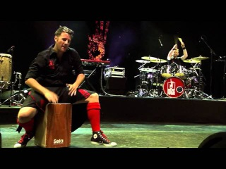 Cajon Solo - Red Hot Chilli Pipers | Live at the Lake