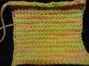 Тунисское (афганское) вязание крючком Tunisian (Afghan) crochet