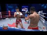 Danilo Zanolini (BRAZIL) vs Hua Xu (CHINA) - Kunlun Fight 57 - 70kg Tournament 1 Semi Final 1