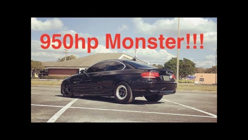 950hp Monster N54 BMW 335i