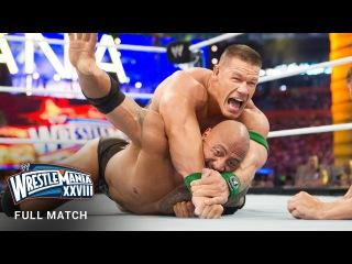 "#My1 FULL MATCH  The Rock vs. John Cena - ""Once in a Lifetime"" Match: WrestleMania XXVIII"
