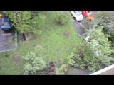 Последствия урагана в Москве. 29.05.2017 около нашего дома