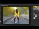 How To Adding Blur and Soft Light Effect In Photoshop CC