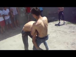 Драка Узбеков чисто 1 на 1. Красивый бой