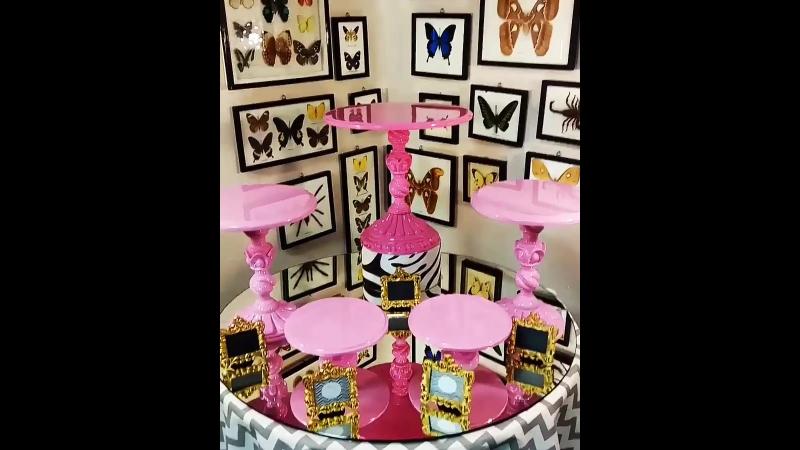 Голиция СофиШерон Митис S Шанель персонализация Посуда для Candy bar