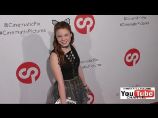 Kennedy Brice at the Rachele Royale Single And Music Video Release For Circus Life at Cinematic Pict