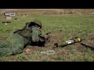 Народная милиция #ЛНР на военном полигоне Республики провела занятия для мотострелковых батальонов по подготовке внештатных огне