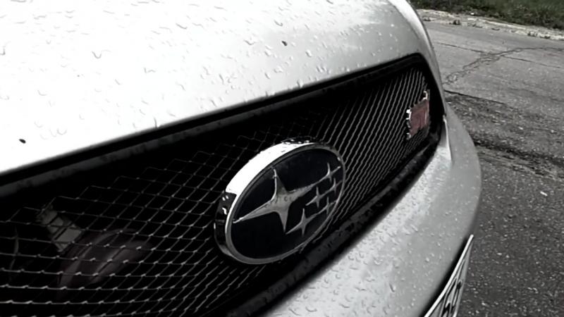 Subaru Legacy Be RSK и Bh GT-B. Deserted gas station