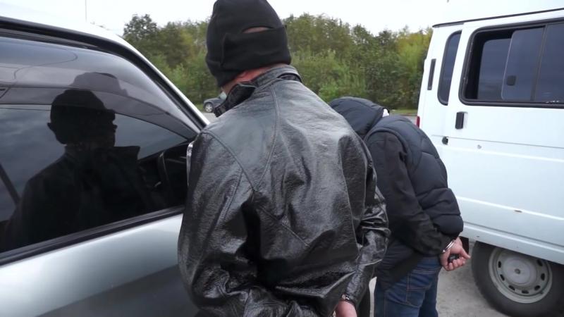 Работает СПЕЦНАЗ ФСБ задержание криминального авторитета «Ерша» оперативная съёмка