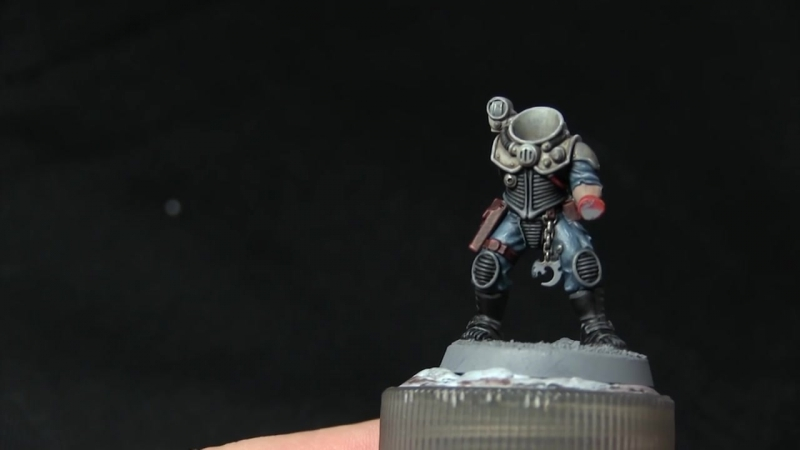 Games Workshop Tutorial_ How To Paint Genestealer Cult Neophyte Hybrids