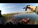 Жор щуки весной! ловля твичингом на воблеры BearKing в заливе днепра кастинговым комплектом full HD спиннинг, фидер, джерк, воблер